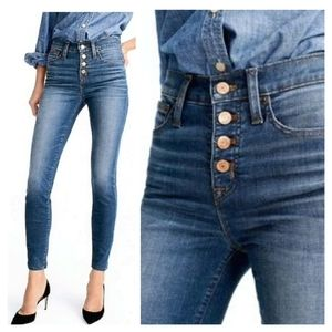 J.Crew The Lookout High Rise Skinny 28